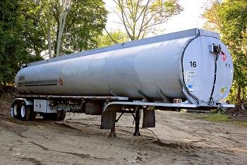 Used 1980 Fruehauf Tank Trailer MC306 Aluminum Petroleum Trailer (SOLD)