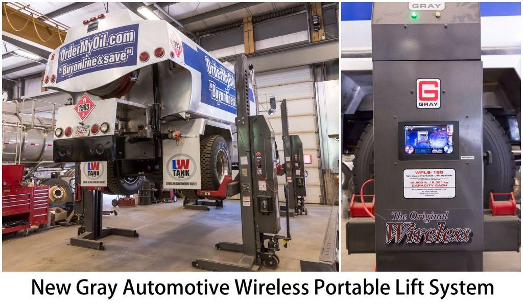 New Gray Automotive Wireless Portable Lift System